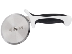 "Pizza Cutter, White Handle 4"" - M18604WH by Mercer Tool."