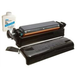 "Triple Oil Stone, 11 1/2"" Sharpening System, 85960 by Norton."