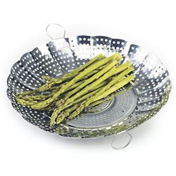 Vegetable Steamer, Large, Expandable, No Center Post, 177 by Norpro.