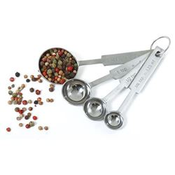 Measuring Spoon Set, Stainless Steel, 4 Piece, 3049 by Norpro.