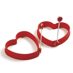 Egg Rings, Heart Shape - Set of 2, 999R by Norpro.