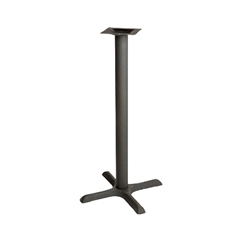 "Oak Street Table Base, 22"" x 22"" Bar Height Base Black - B22-BAR by Oak Street."