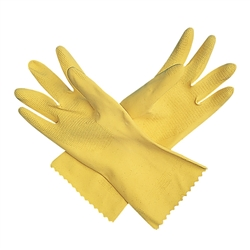 Gloves, Dishwashing LG Yellow 1pr- 620-L by San Jamar.