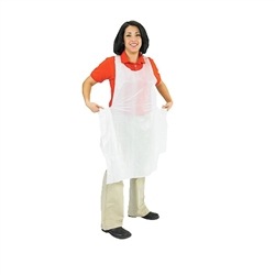 Apron, Bib Disposable Box of 100 - 8706 by San Jamar.
