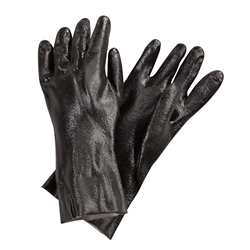 "Gloves, Dishwashing Pot-Sink 14"" Black 1pr- 884 by San Jamar."