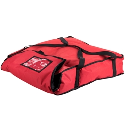 "Pizza Delivery Bag, Holds Two 24"" Boxes - PB25 by San Jamar."