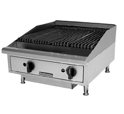 "Charbroiler, 24"" Countertop Radiant Style - Nat./LP Gas, TMRC24 by Toastmaster."