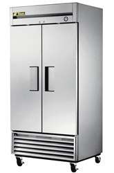 Refrigerator, Reach-In Solid Door - 2 Section, T-35-HC by True.
