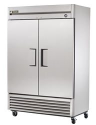 Two Section Solid Door Reach-In Refrigerator - T-49-HC by True.