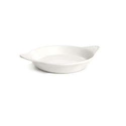 "Au Gratin ""Shirred Egg"", 9 oz Ceramic, White, BWN-0902 by Tuxton."