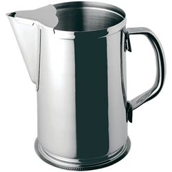 Water Pitcher 64 Oz. Stainless Steel, WP-64 by Update International.