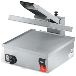 Panini Sandwich Press, Flat, Electric - 120V - 40793 by Vollrath
