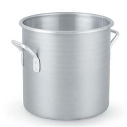Stock Pot, 24qt Medium Duty Aluminum, 4306 by Vollrath.
