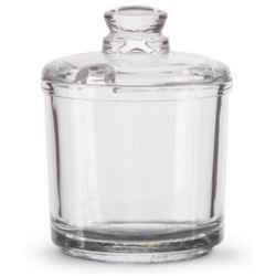 Condiment Jar, Glass With Lid, 527 by Vollrath.