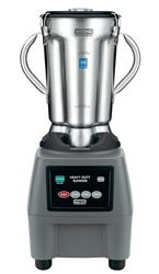 Food Blender, Heavy Duty, 1 gal With Membrane Controls, CB15 by Waring.