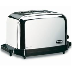 Commercial Toaster, 2-Slice Capacity, WCT702 by Waring.