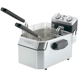 Fryer, Countertop 10lb Fat Capacity - 120V. WDF1000 by Waring.
