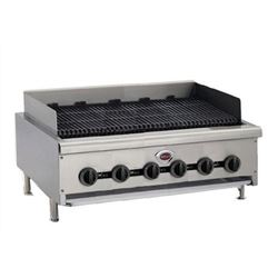 "Charbroiler, 36"" Wide Countertop Radiant Style - Gas, HDCB-3630G by Wells."