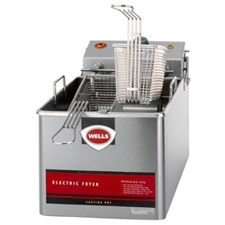 Fryer, Countertop 14lb Electric - 120V, LLF-14 by Wells.