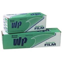 "Food Wrap Film, Multi-Purpose, 12"" x 2000' Roll, 122, Western Plastics"