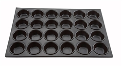Muffin Pan, 24 Compartment Non-Stick AMF-24NS by Winco.
