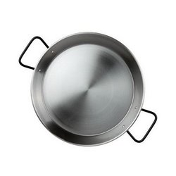 "Paella Pan, 14"" Diameter - ""Pata Negra"" For All Cookers, PS434 by Yaya Imports."