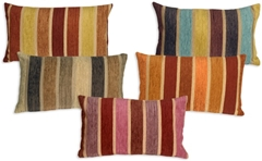 Savannah Stripes 12x20 Chenille Throw Pillows