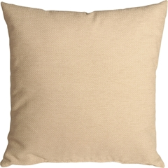 Arizona Chenille 16x16 Cream Throw Pillow