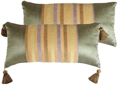 Madeira Stripes Decorative Pillow