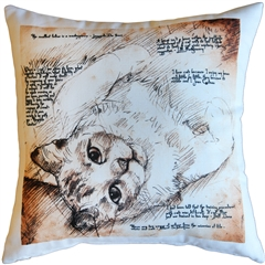 For the Love of Cats 17x17 Throw Pillow