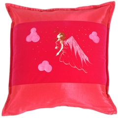 Fairy Throw Pillow Gwendolyn Rose