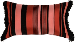 Dramatic Stripes Rectangular Accent Pillow