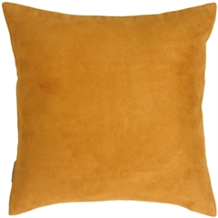15x15 Royal Suede Toffee Throw Pillow