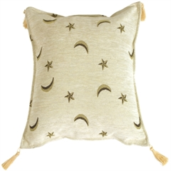 Compass Stars Decorative Throw Pillow