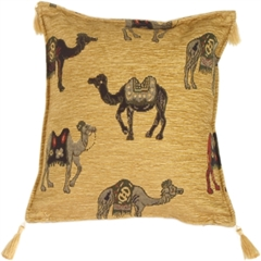 Camels Decorative Throw Pillow