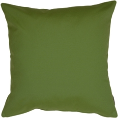 Sunbrella Palm Green 20x20 Outdoor Pillow