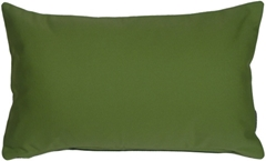 Sunbrella Palm Green 12x20 Outdoor Pillow