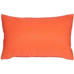 Sunbrella Melon Outdoor Pillow