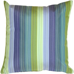 Sunbrella Seville Seaside 20x20 Outdoor Pillow