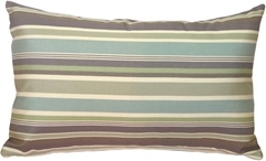 Sunbrella Brannon Whisper 12x20 Outdoor Pillow