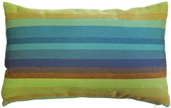 Sunbrella Astoria Lagoon 12x20 Outdoor Pillow