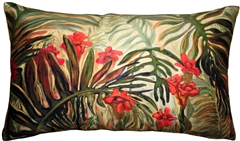 Jungle of Ferns 12x20 Throw Pillow