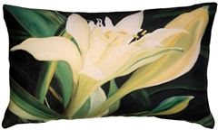 Pamianthe Lily 12x20 Throw Pillow