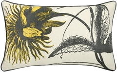 Thomas Paul Botanical Citron 12x20 Throw Pillow