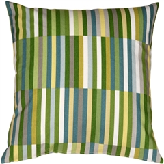 Waverly Side Step Marine 20x20 Throw Pillow