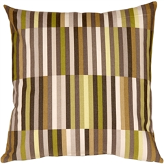 Waverly Side Step Avocado 20x20 Throw Pillow