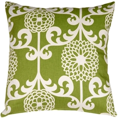 Waverly Fun Floret Spruce 20x20 Throw Pillow