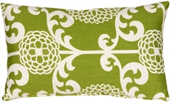Waverly Fun Floret Spruce 12x20 Throw Pillow