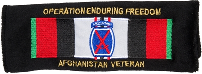 Operation Enduring Freedom - 10th MD