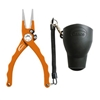 "7.5"" Admiral Aluminum Tournament Pliers Orange"
